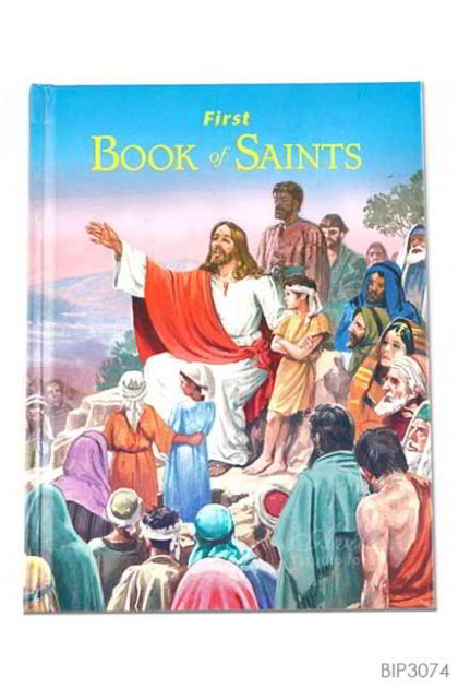 ENGLISH BOOK First Book of Saints